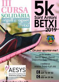 CURSA SOLIDARIA ORGULL GROGUET BETXÍ 09/10/2019
