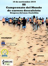 CARRERA DESCALCISTA DE FONDO 10/11/2019